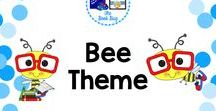 Bee Theme / Bee themed items to decorate or use in your classroom or library/media center