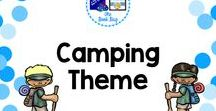 Camping Theme / Items with a camping theme for your classroom or library/media center