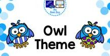 Owl Theme / Owl themed items for your classroom or library/media center
