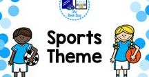 Sports Theme / Sports themed items for your classroom and library/media center