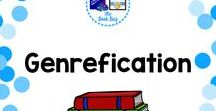 Genre-fication / A Pinterest Board about Genrefication or genre-fying your library
