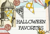 Halloween Favorites / Halloween Favorites...home décor, cards, layouts, decorations, fabulous treatf