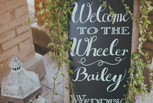 Wedding Wishes and Ideas / I love weddings and parties... I love celebrating, especially with those I love !!! I would be a wedding planner if I was guaranteed to only work with nice brides and their mothers. :) / by Sheri McGill
