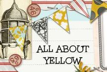 ALL ABOUT YELLOW! / DIY for the love of yellow!