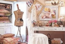Creative Rooms / Scrumptious creative rooms that i would love to create in.