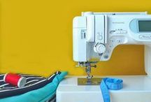 Sewing Room / Sewing machine, ironing, accessories. / by Tejae Floyde