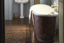 DECOR | BATHROOMS / The only room in the home where true privacy is given.