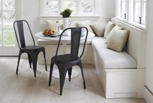 DECOR   SETTEES & BANQUETS / Every home needs a settee. / by At First Blush & Co. Events