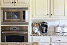 """HOME~ Kitchens / Kitchen update ideas. To see what we are using in our own home, follow my """"PROJECTS~ Kitchen Reduex"""" board / by Stacy Reynolds"""