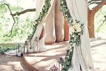 WEDDING | BACKDROPS & STAGING / by At First Blush & Co. Events