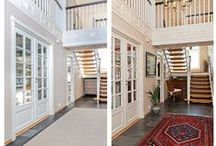 Before & After / Home renovation and interior design pre and post-remodel.