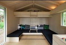 Small Spaces / Tips for building a small home and maximizing small spaces.