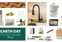 Earth Day 2015 Style Suite Giveaway / The Pfister Design team has crafted this Style Suite with eco-friendly prizes to promote clean air, land and water in celebration of Earth Day on Wednesday, April 22nd, 2015.  This sweepstakes is now closed but check out our Pinterest page for more giveaways! / by Pfister Faucets