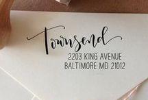 Envelopes Return Address / by Tejae Floyde