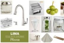 Pfister's Lima Style Suite Giveaway! / Pfister's Lima Style Suite has been designed to help you transition from summer entertaining outdoors to the fall season of inside parties, holidays and get togethers.  This giveaway is closed, but please check our other boards for monthly sweeps and big giveaways!  / by Pfister Faucets