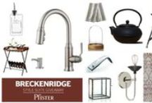 "Breckenridge Style Suite Giveaway! / The Breckenridge Faucet's ""modern industrial"" draws inspiration from a bygone machinery era of multi-tone finishes, proper joinery, and functional mechanical artistry. Win Pfister's Breckenridge faucet and this entire prize package by completing a short survey: http://pfsoci.al/BreckenridgeSurvey.  This giveaway is closed, but please check back for more sweeps and giveaways each month!"