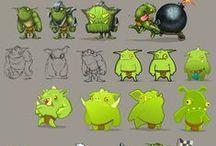 Game design, characters, Tutorial, object , background Игровой дизайн, персонажи, туториалы / Заходите также на другие мои доски: левел-дизайн, рисование, анимация, арт и иллюстрация, шаржи, комиксы и  т.д