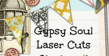 Gypsy Soul Laser Cuts Chipboard