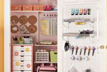 Craft Room Organization / Tips to Organize Your Craft Room