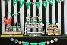 Football Party Ideas / by Shelley Sagara