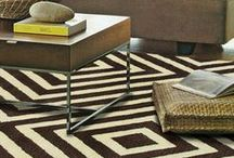 Floor Decor / Amazing rugs to add fun accent to any room. / by PoshLiving