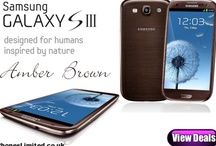 Samsung Galaxy S3 Amber Brown deals / by Phones LTD - Compare Cheap Mobile Phone Deals