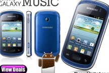 Samsung Galaxy Music / The new Samsung Galaxy Music offers dual loud speakers, Samsung's Music Hub service, the Android 4.0 Ice Cream Sandwich operating system, a 3 inch TFT display and 3 megapixel camera!