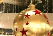 Gold Christmas Baubles / by BeGolden