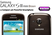 Samsung Galaxy S3 Mini Brown Deals / Originally released in Pebble Blue and Marble White, the Samsung Galaxy S3 Mini is now to be launched in an Amber Brown colour scheme alongside three other new colours; Titan Grey, Sapphire Black and Garnet Red.  http://www.phoneslimited.co.uk/Samsung/Galaxy+S3+Mini+Brown.html
