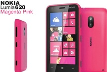 Nokia Lumia 620 Pink / The Pink Lumia 620 joins the flagship Nokia Lumia 920 and mid-range Lumia 820 in the manufacturers latest incarnation of Windows powered smart phones. Boasting the same Windows Phone 8 software as the more expensive models and Nokia's own apps like 'City Lens' the Nokia Lumia 620 offers the same great operating system features inside a funky and very colourful design.