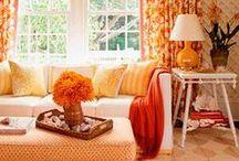 Color Trend: Orange / by PoshLiving