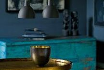 Color Trend: Blue Hues / Hues for the lover of blues / by PoshLiving