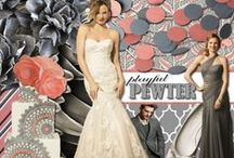 Playful Pewter / Our favorite new neutral is Pewter! Whether you keep the neutral palette or add in pops of color; find all of the perfect details for your dream day here! / by Watters