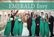 Emerald Envy / Our Favorite Emerald & Green Wedding Inspiration. / by Watters