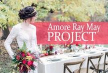 Amore Ray May Project / The incredible team of Rachel May Photography and Amore Events by Cody put together a group of vendors who created some of the most beautiful wedding inspiration we have ever seen!   / by Watters