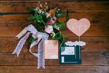STYLED SHOOTS / Some of our favorite styled images, including custom paper decorations of all kinds!