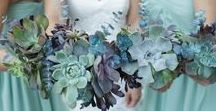 Southwestern Desert Weddings / Tables decked with dreamy succulents and Native American-inspired elements bring a truly unique look to southwestern weddings.
