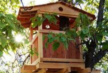 Natural State Treehouses - Our Projects / treehouses - playsets - swingsets - playhouses - art retreats - meditation spaces - treehouse plans - sustainable woodworking www.naturalstatetreehouses.com