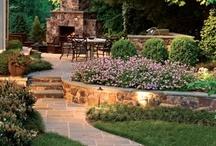 Gardening / Outdoor spaces / by Melissa Johnson Jones