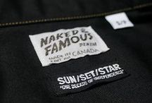 Naked & Famous Denim X SUN/SET/STAR / http://www.sunsetstar.com/Naked-and-Famous-X-SUNSETSTAR-Slim-Shirt   / by SUN/SET/STAR