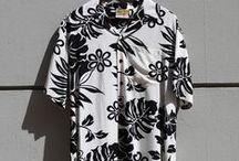 aloha from hawaii / http://www.sunsetstar.com/Aloha-Shirts-from-Hawaii / by SUN/SET/STAR