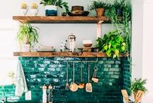 HOME / Textures, colours, and home decor