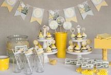 Yellow and Grey Bridal Shower / by Whitney Kahn
