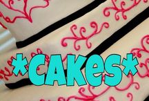 *Cakes* / Wedding cakes, theme cakes, party cakes  / by Bel Rosa