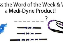 Guess the Word of the Week ! / Each week we will post a new pin and the first pinner to guess the word of the week will WIN a free Medi-Dyne product!