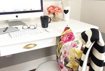 office / Girl boss office inspiration.