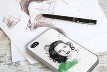 TP ♡ SMARTPHONE ART / Nos créations graphiques pour smartphone à votre image !    / by This Portrait - Website