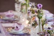 Theme: Lavender / Lavender themed weddings décor and styling