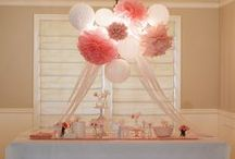 Pink Baby Shower / by Whitney Kahn