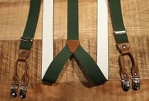 suspenders. old school. / http://www.sunsetstar.com/Suspenders / by SUN/SET/STAR